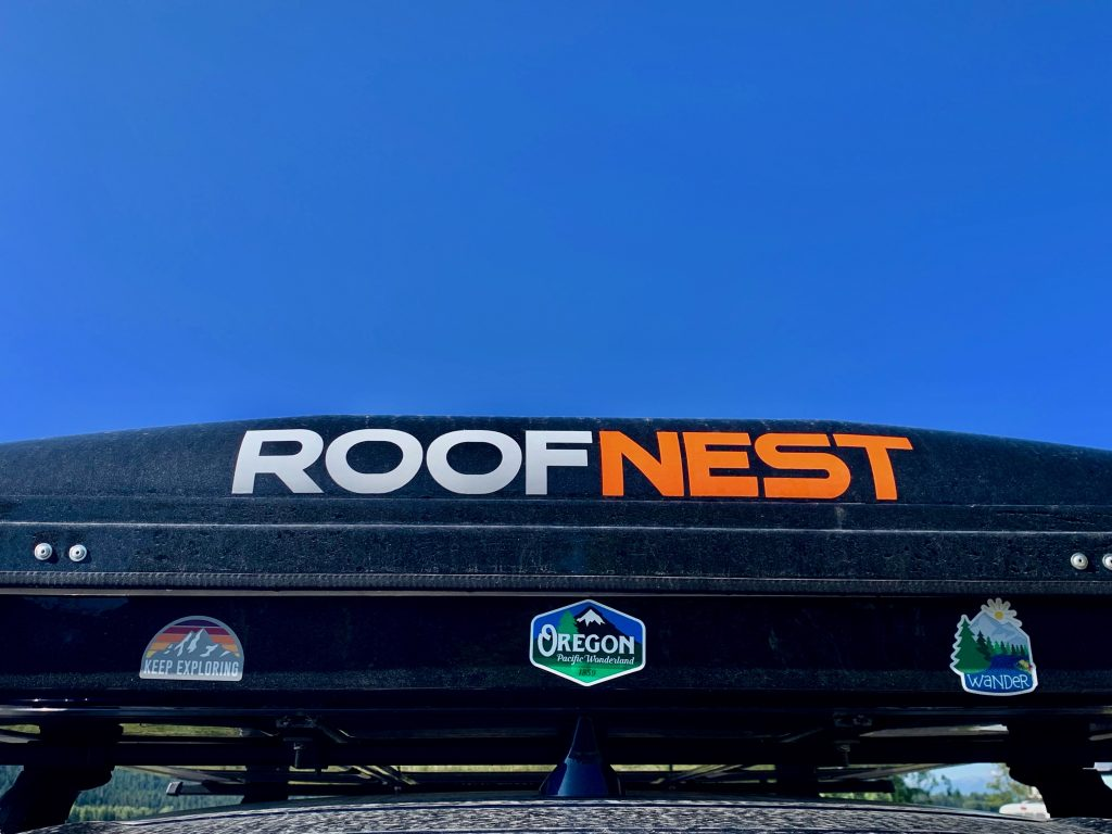Roof Nest is the brand of our roof top tent home.